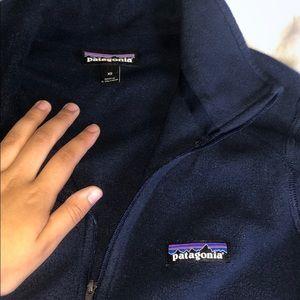 Patagonia fleece half zip